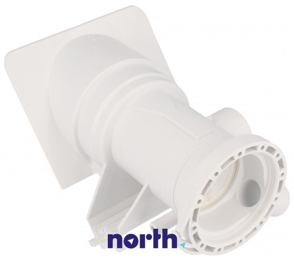 Obudowa pompy odpływowej z filtrem do pralki 481248058105,0