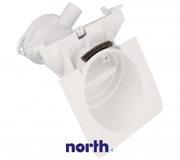 Obudowa pompy odpływowej z filtrem do pralki 481248058105,1