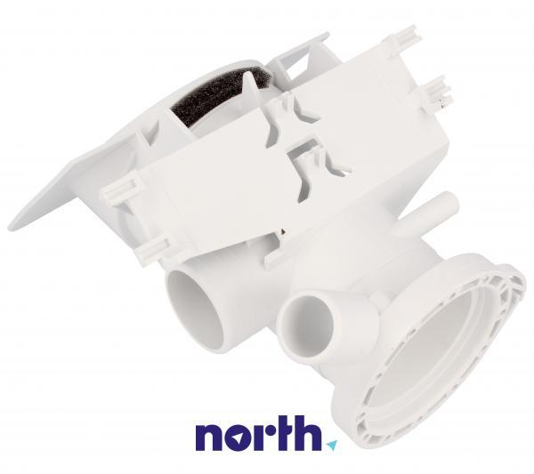Obudowa pompy odpływowej z filtrem do pralki 481248058105,3