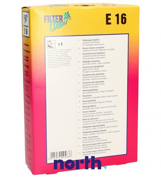 Worek do odkurzacza E16 Electrolux 5szt. 000712K,1