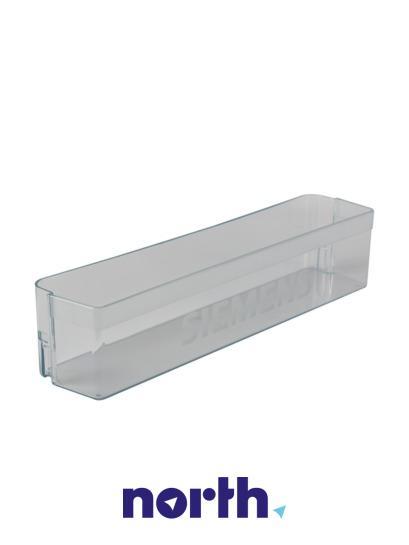 Balkonik | Półka na butelki na drzwi chłodziarki (dolna) do lodówki Siemens 00356676,1