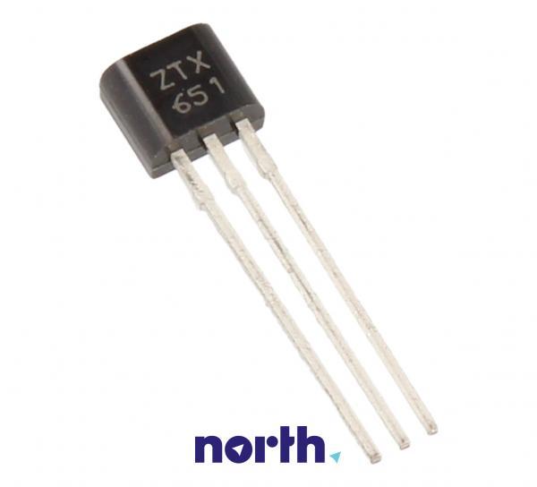 ZTX651 Tranzystor TO-92 (npn) 60V 2A 175MHz,0