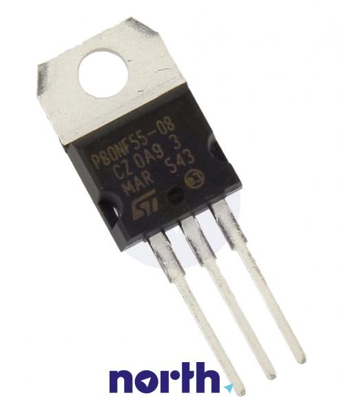 STP80NF55-08 Tranzystor MOS-FET TO-220 (n-channel) 55V 80A 11MHz,0