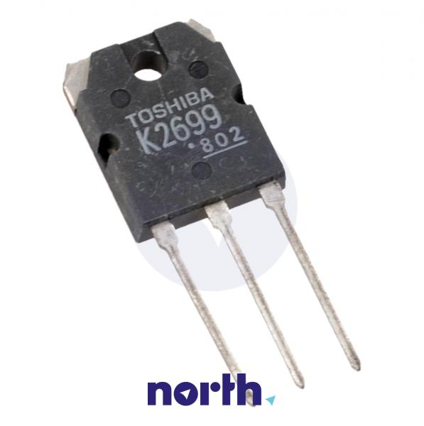 2SK2699 Tranzystor TO-3P (n-channel) 600V 12A 22MHz,0