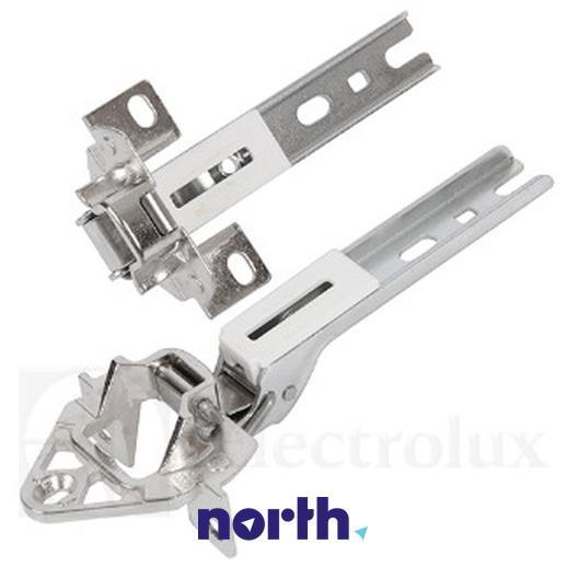 Zawias drzwi komplet do lodówki Electrolux 8996710710147,2