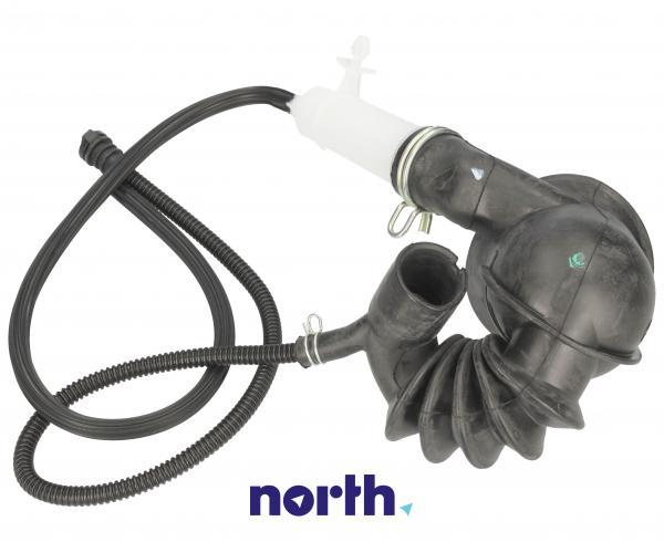 Rura | Wąż połączeniowy bęben - pompa do pralki Bosch 00480442,1