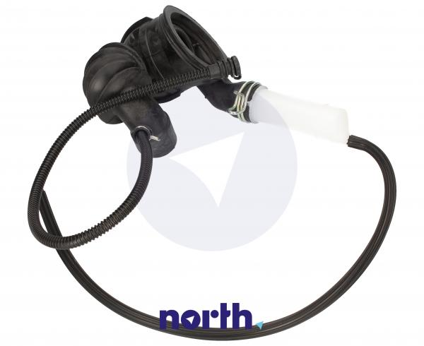 Rura | Wąż połączeniowy bęben - pompa do pralki Bosch 00480442,2