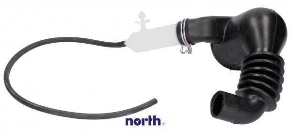 Rura   Wąż połączeniowy bęben - pompa oko ball - system odzyskiwania detergentu do pralki Siemens 00480443,0