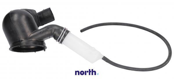 Rura   Wąż połączeniowy bęben - pompa oko ball - system odzyskiwania detergentu do pralki Siemens 00480443,1