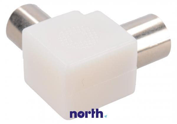 Łącznik COAX (wtyk/gniazdo) standard,1