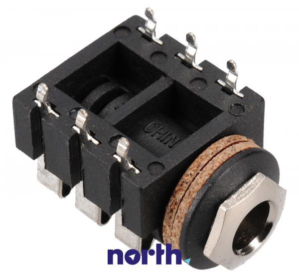 Gniazdo JACK 6.3mm (stereo) NYS215,2
