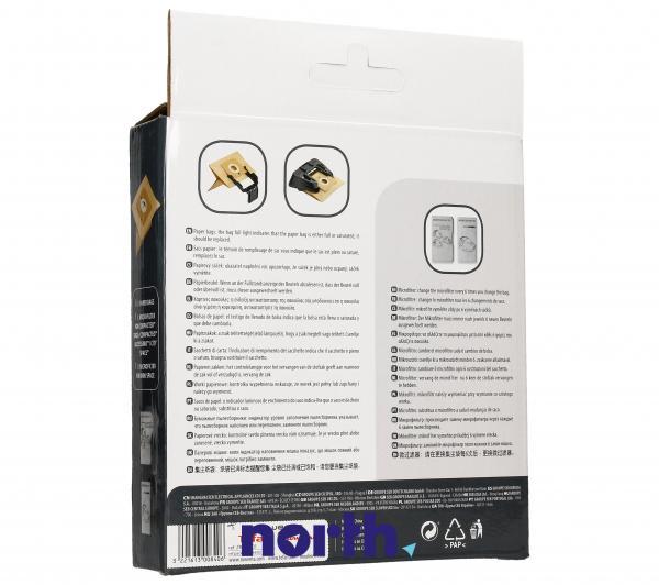 Worek do odkurzacza COMPACTEO Rowenta 6szt. (+filtr) ZR003901,2
