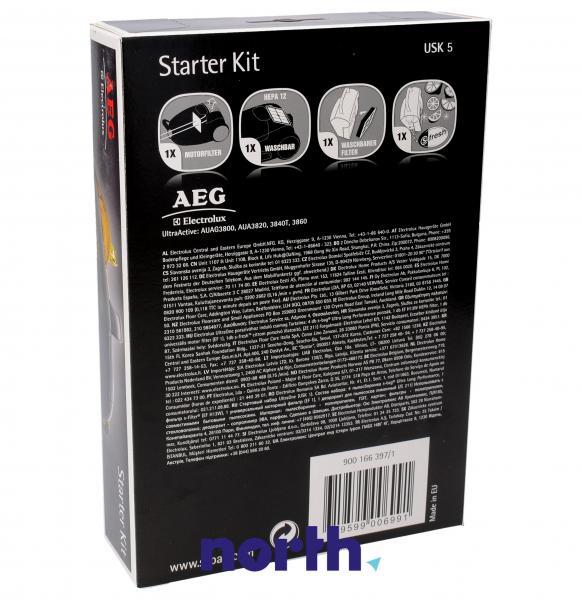 Zestaw startowy: filtry, wkład zapachowy do odkurzacza 9001663971,1