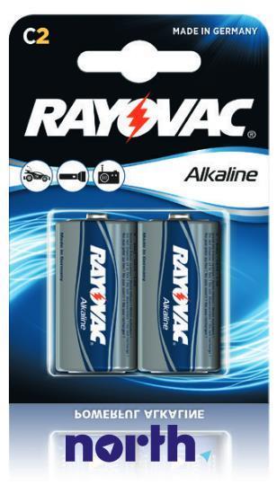 R14 | LR14 | MN1400 Bateria C alkaliczna 1.5V Rayovac (20szt.),0