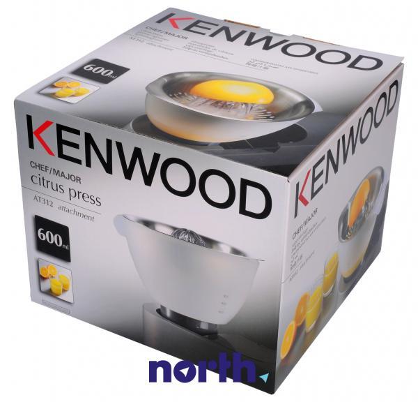 Wyciskarka cytrusów AT312B do robota kuchennego Kenwood AWAT312B01,4