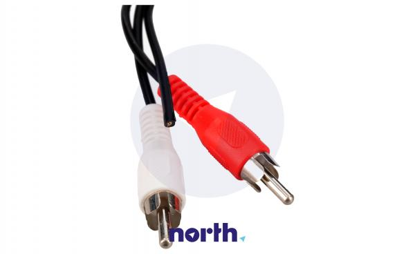 Kabel 0.2m DIN 5 pin - CINCH (gniazdo/ wtyk x2) standard,1