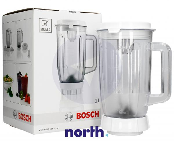 Dzbanek | Pojemnik blendera kompletny do robota kuchennego Bosch 00461188,0