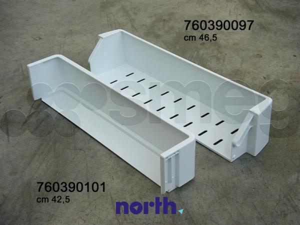 Balkonik/Półka dolna na drzwi chłodziarki  do lodówki 760390097,1