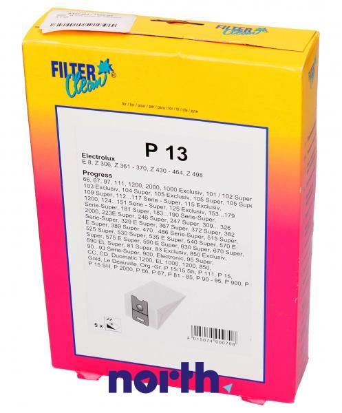 Worek do odkurzacza P13 Electrolux 5szt. 000078K,0