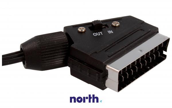 Kabel 2m SCART - CINCH (wtyk/ wtyk x3) standard,2
