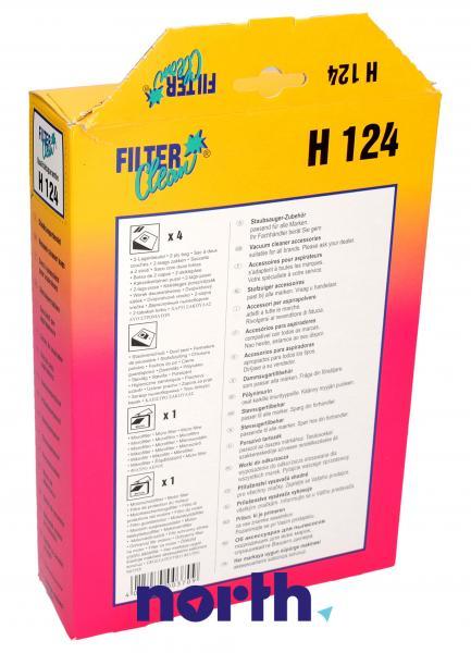 Worek do odkurzacza H124 Hoover 4szt. (+2 filtry) 000166K,1