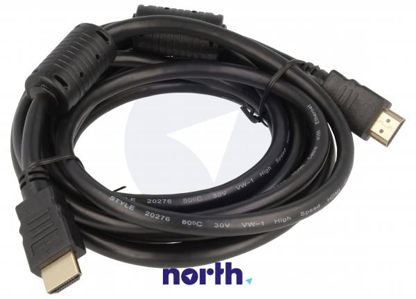 Kabel HDMI 3m (wtyk/wtyk) standard,0