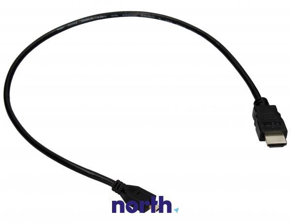 Kabel HDMI - HDMI micro 0.5m (wtyk/ micro wtyk) high quality,0