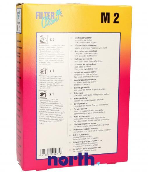 Worek do odkurzacza M2 Miele 5szt. (+2 filtry) 000104K,1