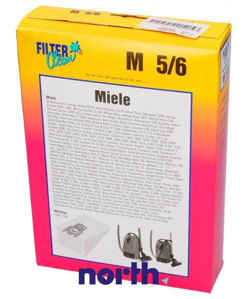 Worek do odkurzacza M6/M5 Miele 5szt. M5,0