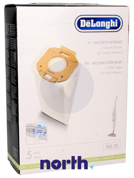 Worek do odkurzacza DLS35 De Longhi 5szt. 5519210141,0