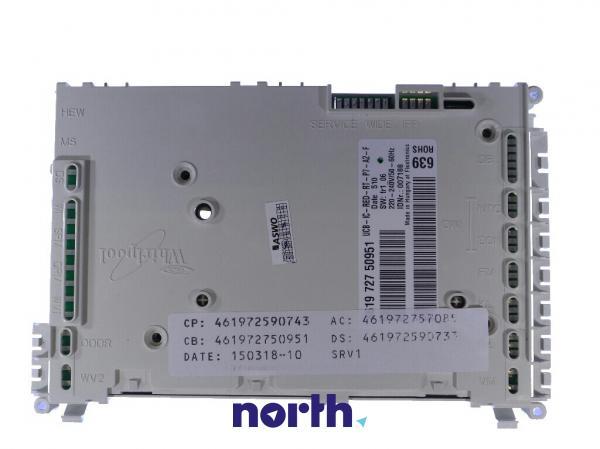 Moduł sterujący nieskonfigurowany do zmywarki Whirlpool 480140102482,0