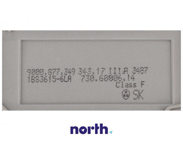 Pompa myjąca z turbiną i grzałką do zmywarki 00651956,3