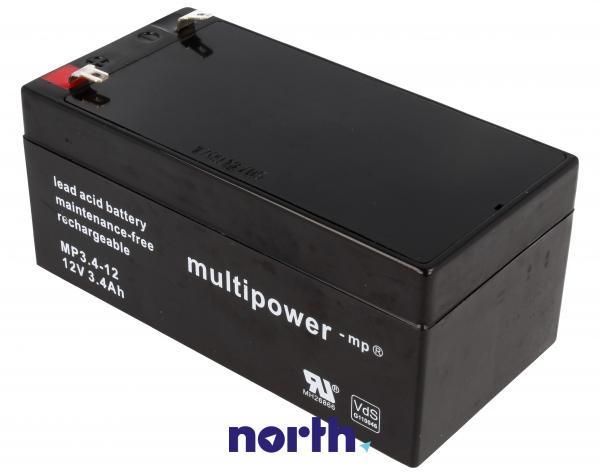 MP3,412 Akumulator UPS 12V 3400mAh Multipower (1szt.),1