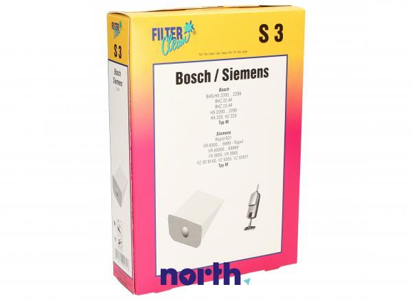 Worek do odkurzacza S3 Bosch 8szt. (+filtr) 000030K,0