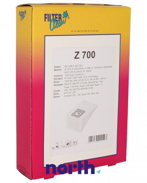 Worek do odkurzacza Z700 Bestron 5szt. (+filtr) 000032K,0