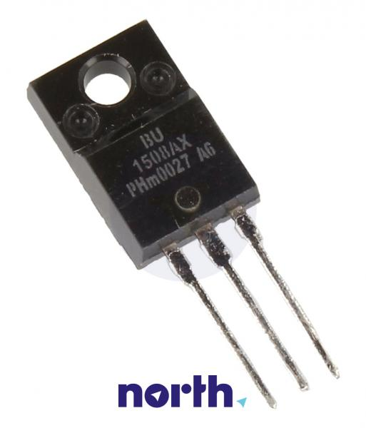 BU1508AX Tranzystor SOT-186A (npn) 1500V 8A 1MHz,0