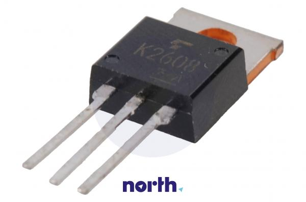2SK2608 Tranzystor TO-220AB (n-channel) 900V 3A 66MHz,0
