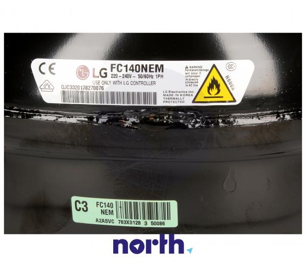 Sprężarka | Kompresor FC140NEM lodówki TCA34632901 (agregat),2