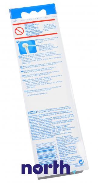Dysza | Końcówka ED15A-4 Water Jet do irygatora 4szt. Oral-B 63718713,3