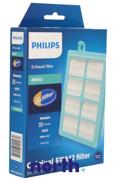 Filtr hepa FC8031/00 1szt. HEPA12 do odkurzacza Philips 432200492925,0