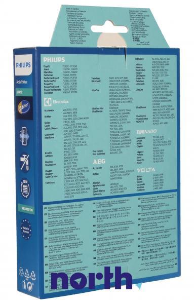 Filtr hepa FC8031/00 1szt. HEPA12 do odkurzacza Philips 432200492925,1