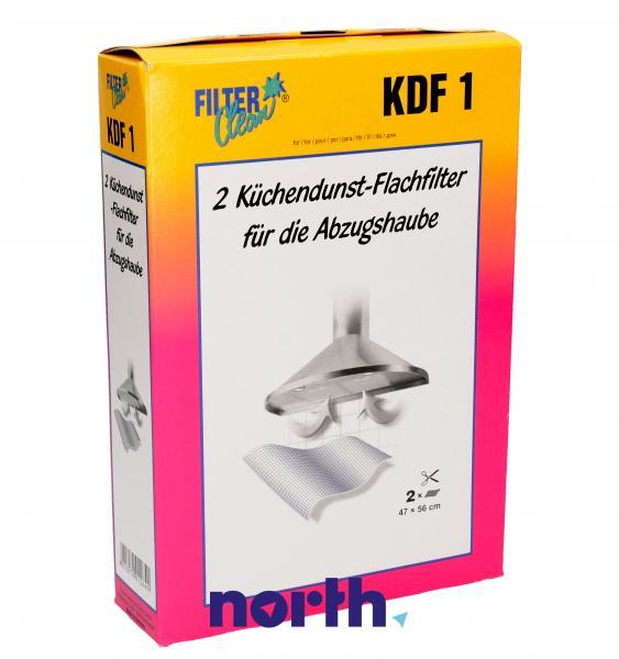 Filtr przeciwtłuszczowy (włókninowy) KDF1 do okapu 300003KDF,0