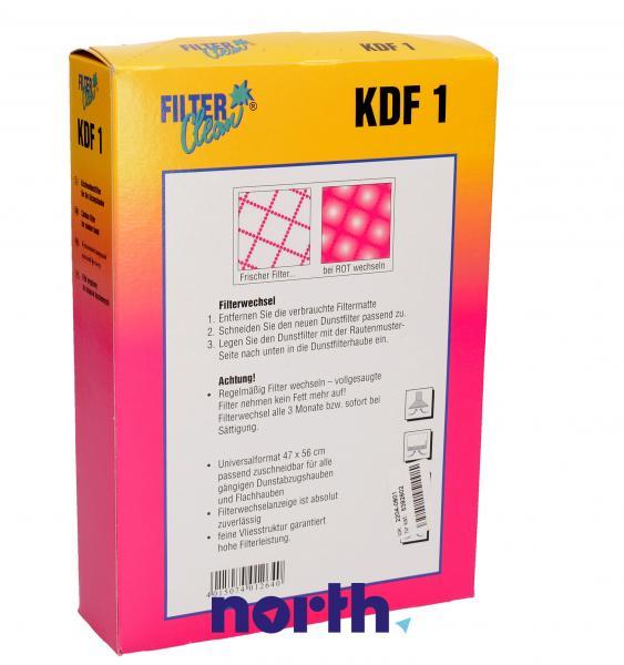 Filtr przeciwtłuszczowy (włókninowy) KDF1 do okapu 300003KDF,1