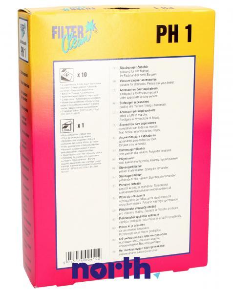Worek do odkurzacza PH1 / ETA426 Philips 10szt. (+2 filtry) 000024KA,1