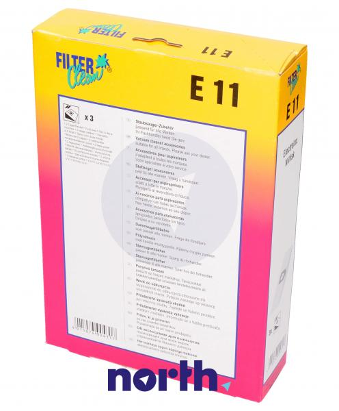 Worek do odkurzacza E11 Electrolux 3szt. 000254K,1
