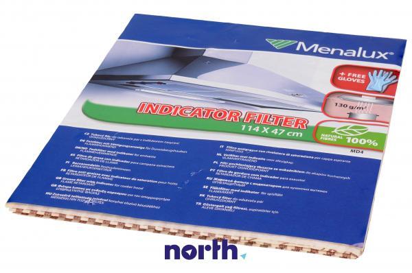 Filtr przeciwtłuszczowy uniwersalny do okapu Menalux 9029790954,0