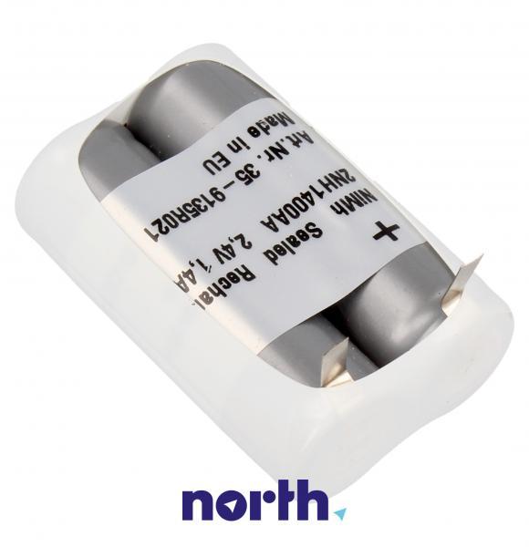 Akumulator 2.4V 1200mAh do golarki Philips (2szt.) 2HHR120AA,1