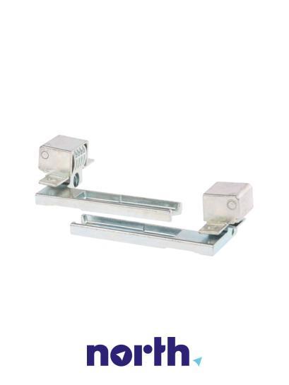 Zawias drzwi prawy + lewy komplet do lodówki Siemens 00481572,1