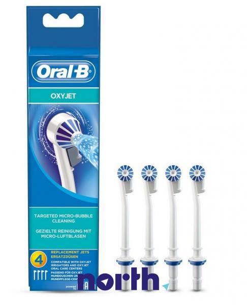 Dysza | Końcówka ED17-4 OxyJet do irygatora 4szt. Oral-B 63719733,0