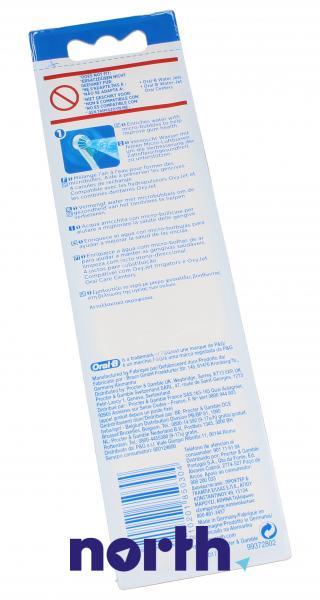 Dysza | Końcówka ED17-4 OxyJet do irygatora 4szt. Oral-B 63719733,4
